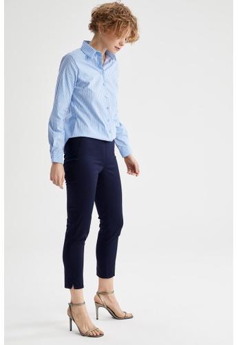 DeFacto navy Woman Woven Trouser CCBE1AAEC3FB8CGS_1