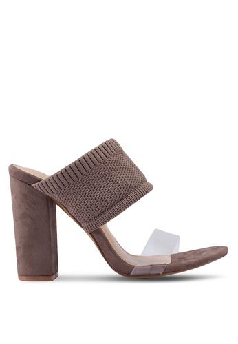 nose brown High Heel Slides C5096SHD7A3FE4GS_1