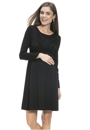 Mayarya black Porto Dress 61310AA07DDB1DGS_1