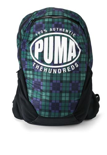 PUMA green The Hundreds Backpack 7C2B4AC65BFA68GS_1