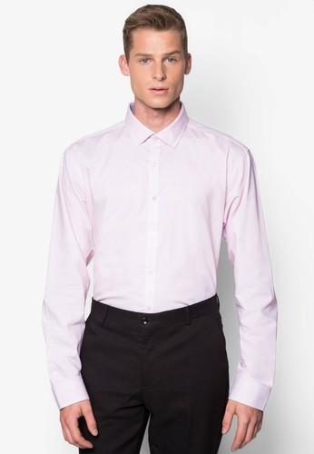 基本款修身長袖襯衫, 服飾, esprit hong kong 分店服飾