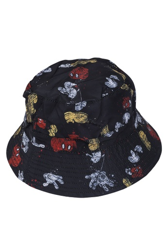 Desigual black Mickey Lovers Bucket Hat 79D6CAC83887F0GS_1