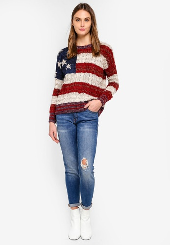 38e2bbf16 Buy Superdry Americana Cable Knit Jumper Online