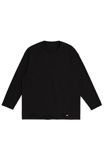 Twenty Eight Shoes Cutting style Lightweight Knit T-shirt 1902W20 00F22AAAF7DF0DGS_1