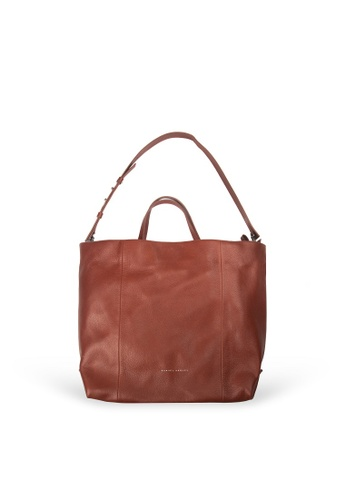 Samuel Ashley brown Ziv Tote Bag - Brandy 438DFACE759F56GS_1