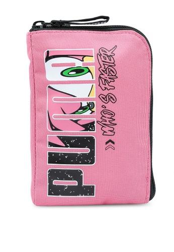 Puma pink Sega Portable Bag 8D7DEKC54ABBDCGS_1