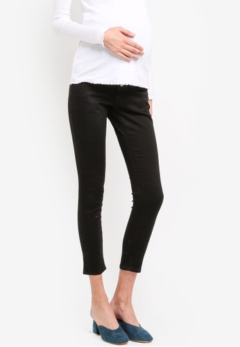 TOPSHOP black Maternity Black Leigh Jeans TO412AA0SRSGMY_1