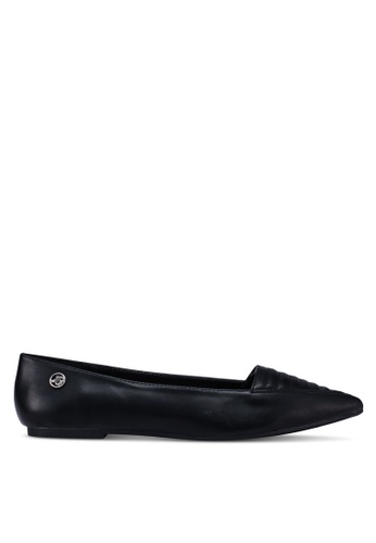 Bata black Pointed Toe Flats 99BF7SH9F09C02GS_1