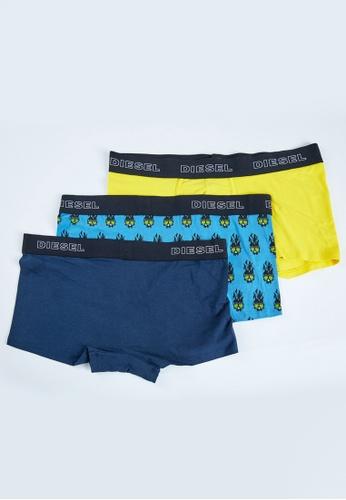 DIESEL blue UMBX-DAMIENTHREEPACK Boxers 70506US7E520E7GS_1