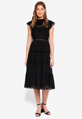 Y.A.S black YASLEZ S/L DRESS - DAS 3BDA3AA5AB456CGS_1