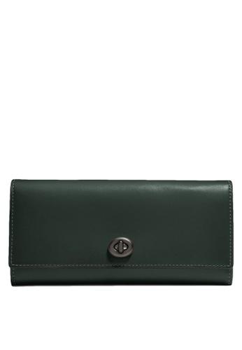 Coach green Envelope Wallet (cv) 5C5AFACF23D65BGS_1