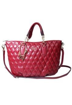 Calista 2 Strap Zip Tote Bag L