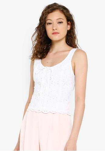 Lace Blami - White - Abercrombie & Fitch