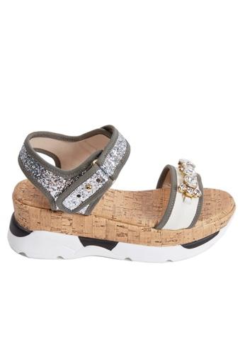 messe Blossom Jewel Sandals ME313SH46YFHHK_1