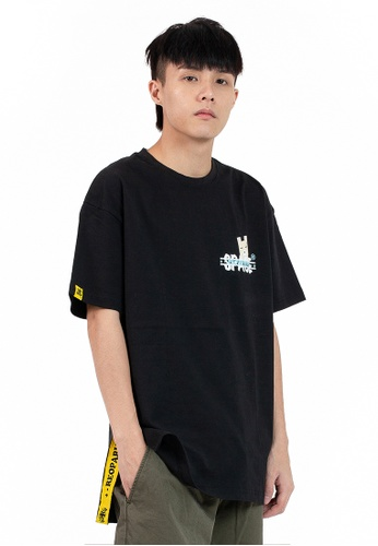 Reoparudo black Ieeo In Space @ RPD Space Edition Reflective Print Tee (Black) 96BBAAA131B8DCGS_1