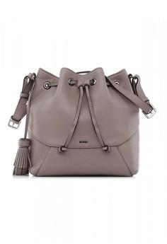 Taupe Leonie Bucket Bag