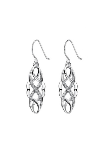 Kings Collection silver Delicate Tree Vine earrings 13F89AC247AF0CGS_1