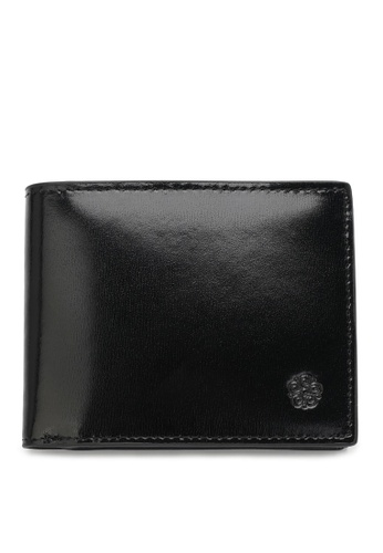 Wild Channel black Faux Leather Short Wallet 7F25CAC8A5C24CGS_1