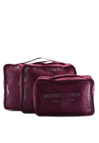 六入衣服旅行收納袋、 包、 旅行配件Bagstationz六入衣服旅行收納袋最新折價
