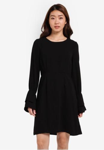 Vero Moda black Molly Short Dress VE975AA0S5RLMY_1