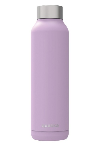 QUOKKA QUOKKA STAINLESS STEEL BOTTLE SOLID LILAC 630 ML D519EACC1124E5GS_1
