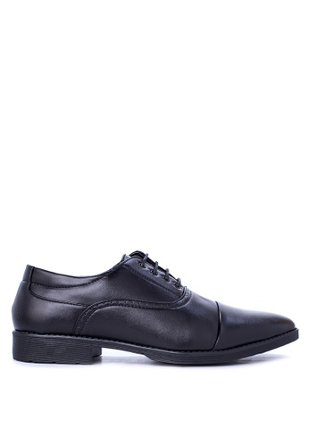 Italianos black Kendrick Formal Shoes IT153SH07GCMPH_1