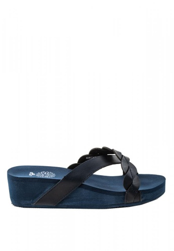 Otto navy Crossover Sandals 184B5SH8FB51D3GS_1