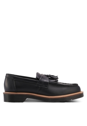 Dr. Martens black Core Originals Adrian Straw Tassel Loafers DR086SH0SX6AMY_1