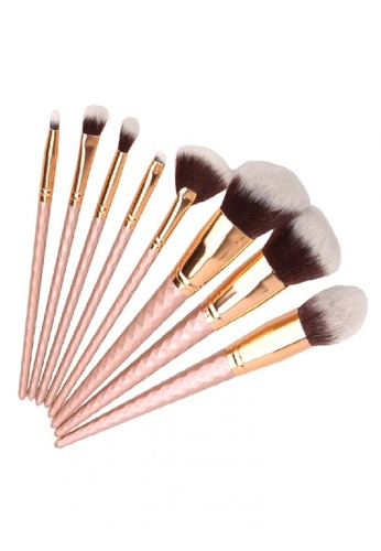 unicorn brush set. mythss pink unicorn brush set \u2013 mars 8 pcs my493be52kkhhk_1 k