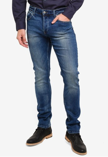 Only & Sons blue Loom Blue Washed Jeans 90CC1AA8000331GS_1