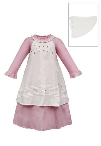 INFINE pink Muslim Dress Anak Esm 227 6/16 8757DKA176A668GS_1