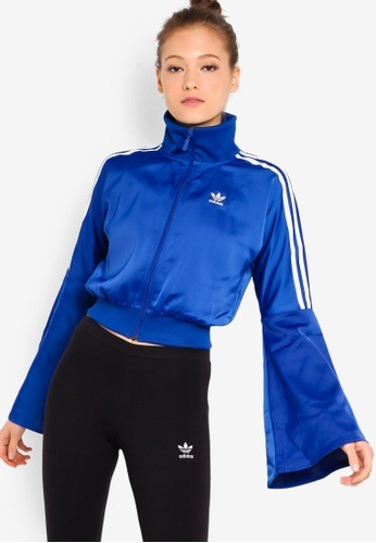 f49856c1 Buy adidas adidas Originals Satin Track Jacket Online on ZALORA ...
