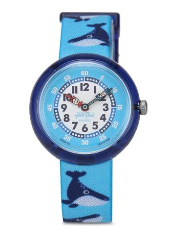 Flik Flak blue Whale Done Watch 4495EKCFD8EE99GS_1