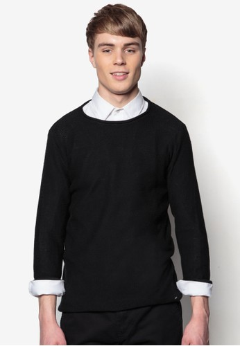 Jarah 素色針織長袖衫, esprit outlet 高雄服飾, 毛線衣
