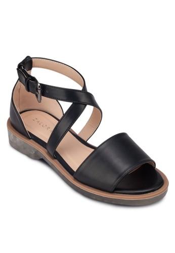 透明鞋跟zalora是哪裡的牌子平底涼鞋, 女鞋, 涼鞋