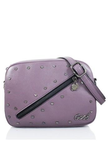 GOSH purple Lunaria-261 Heart Sling Bag B52F9ACB3D0A71GS 1 35dba11f2d