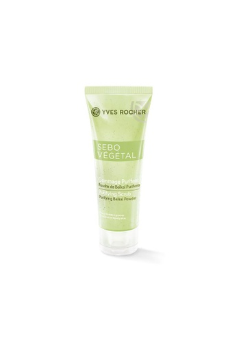 Yves Rocher green Sebo Vegetal Purifying Scrub 75ml YV460BE59LJKSG_1