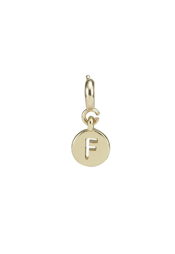 My Flash Trash gold Gold letter charm f CCCD3ACD38C574GS_1