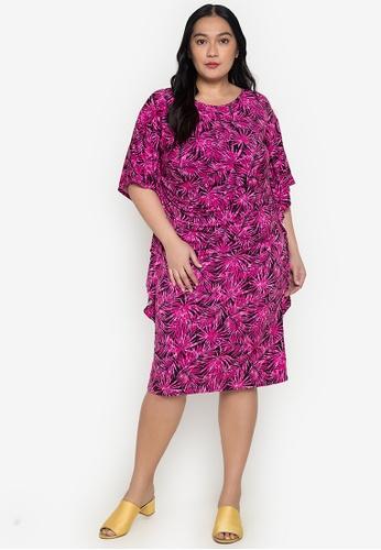 Get Laud Plus pink Thelma Mini Plus Dress 83013AA94EE436GS_1