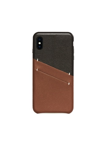 OBX brown Irish Layered iPhone Xs Max Leather Card Slot Case C62E5AC32A8CEDGS_1