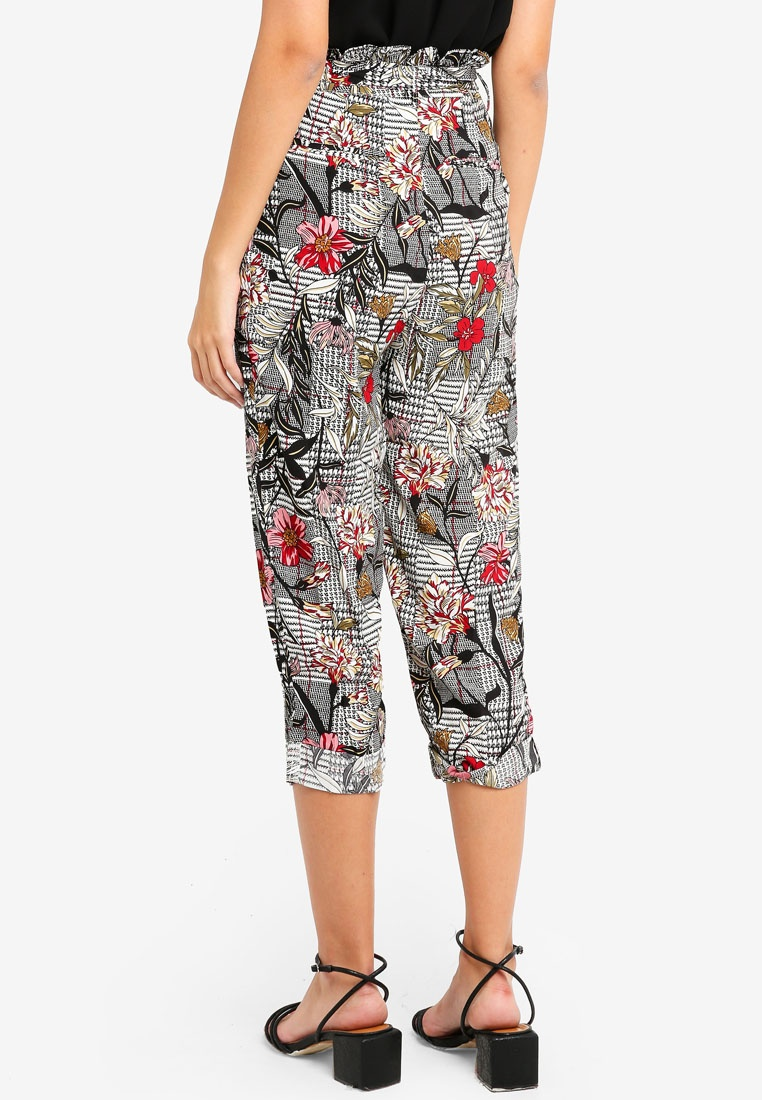 Floral Glamorous Floral Check Check Multi Pants Multi qUwUzrxX