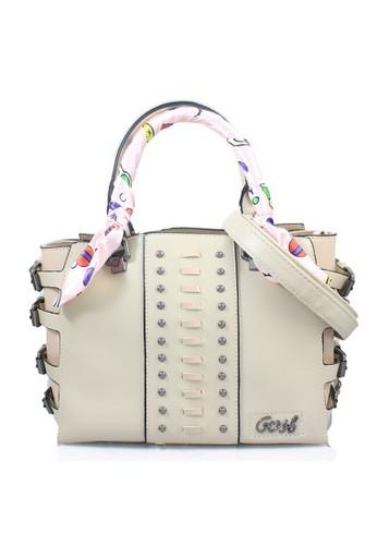 GOSH beige Gosh Fashion Hand Bag DE27AAC3DDCC36GS 1 52dc33737e