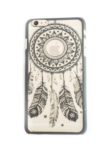 Fancy Cellphone Cases multi Dream Catcher Hard Transparent Case for 6plus/6splus FA644AC98JQFPH_1
