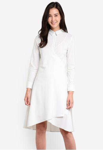 ZALORA white and multi Studio Shirt Dress BF478AA4CD1988GS_1