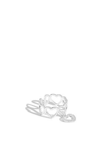 HAPPY FRIDAYS 925純銀丘比特愛心戒指 AR-JA497 653CFAC1BDC650GS_1