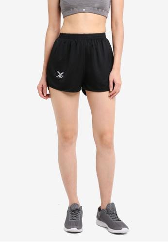 FBT black Running Shorts Straight Cut 15126AAEB90C73GS_1