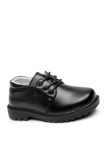 Twenty Eight Shoes 黑色 VANSA 真皮學生鞋   VSK-D2201L 10992KS646E136GS_1