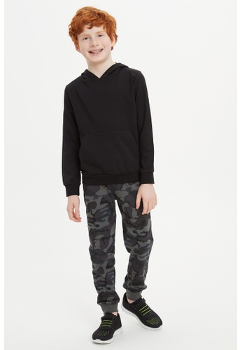 DeFacto grey Boy Knitted Bottom Trousers 6A8BFKAB7C61F9GS_1