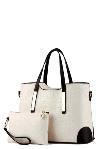 TCWK white TCWK Set of 2 pcs Ladies Handbag TC258AC0RRMEMY_1