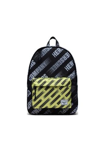 Herschel black Herschel Classic Backpacks - HSC Motion Black/Highlight E60B6ACE86543BGS_1